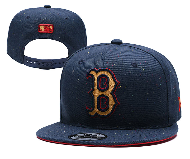 MLB Boston Red Sox Stitched Snapback Hats 013
