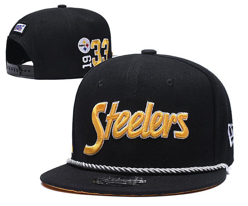 Pittsburgh Steelers Stitched Snapback Hats 049