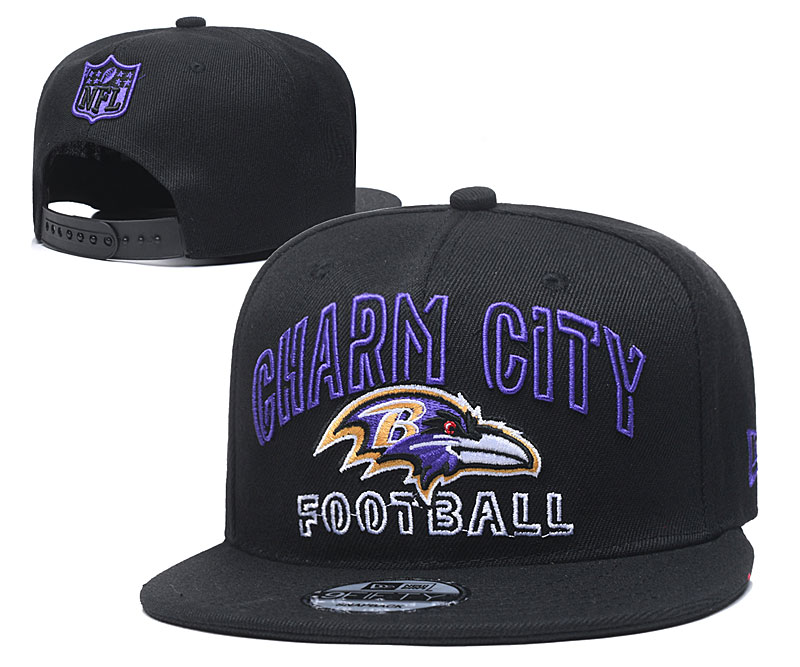 Baltimore Ravens Stitched Snapback Hats 053