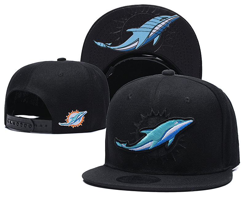 Miami Dolphins Stitched Snapback Hats 001