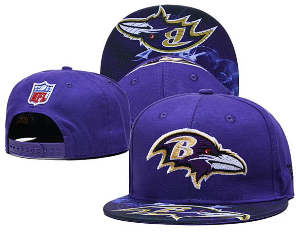Baltimore Ravens Stitched Snapback Hats 056