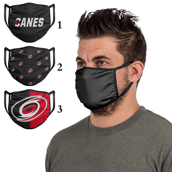 Carolina Hurricanes Sports Face Mask 001 Filter Pm2.5 (Pls Check Description For Details)