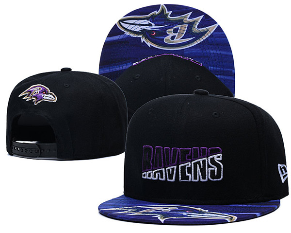 Baltimore Ravens Stitched Snapback Hats 058