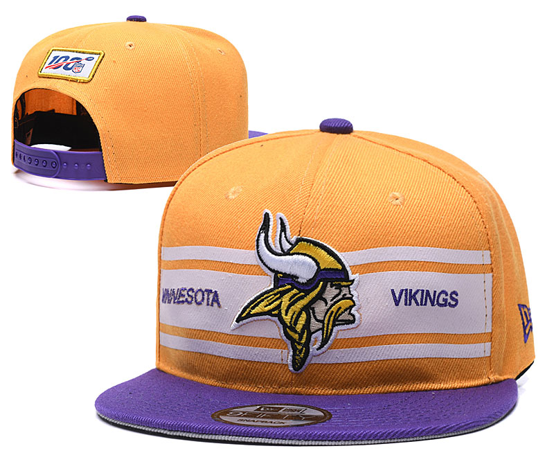 NFL Minnesota Vikings New Era 2019 Knit Hats 019