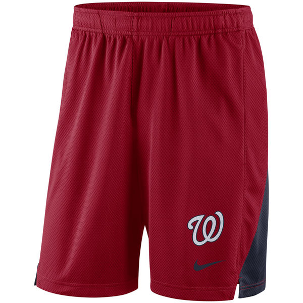 Men's Washington Nationals Red Franchise Performance Shorts