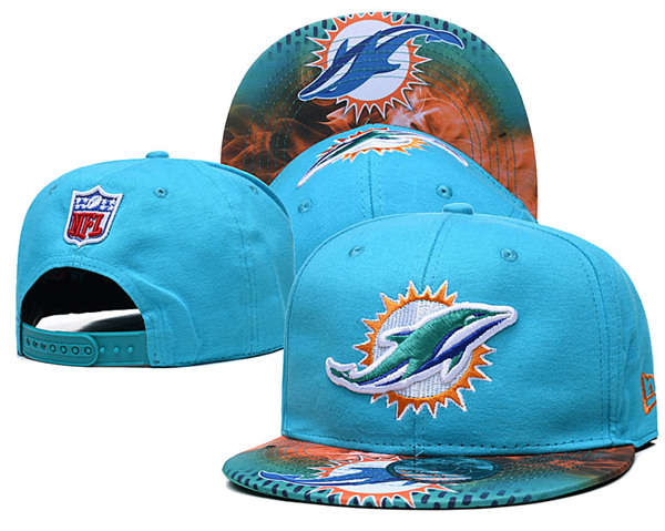 Miami Dolphins Stitched Snapback Hats 020