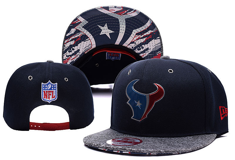 NFL Houston Texans Stitched Snapbcack Hats 008