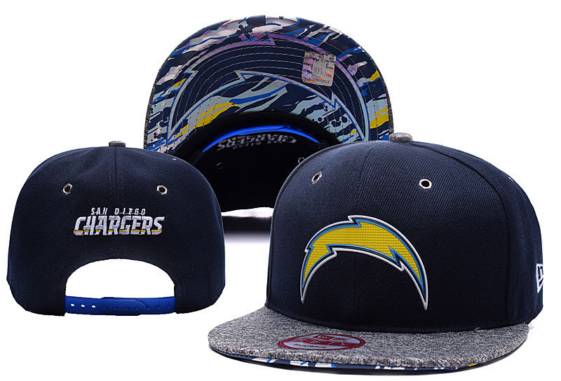NFL Los Angeles Chargers Stitched Snapback Hats 008