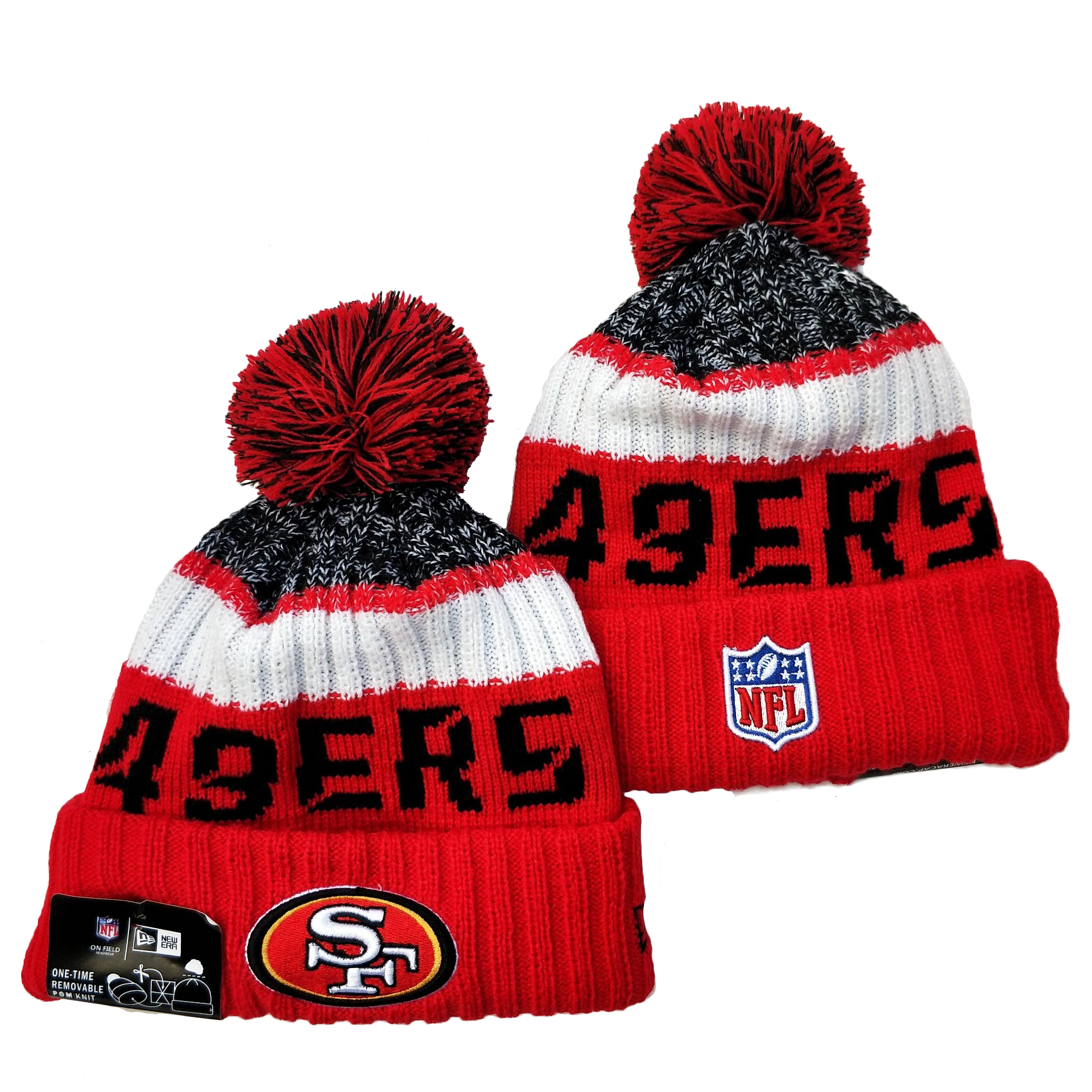 NFL San Francisco 49ers Knit Hats 078