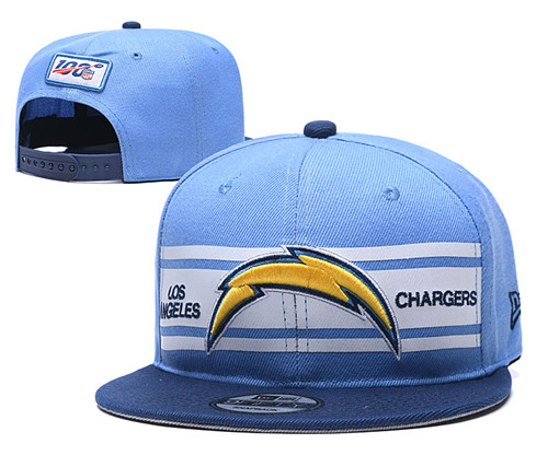 NFL Los Angeles Chargers Stitched Snapback Hats 012