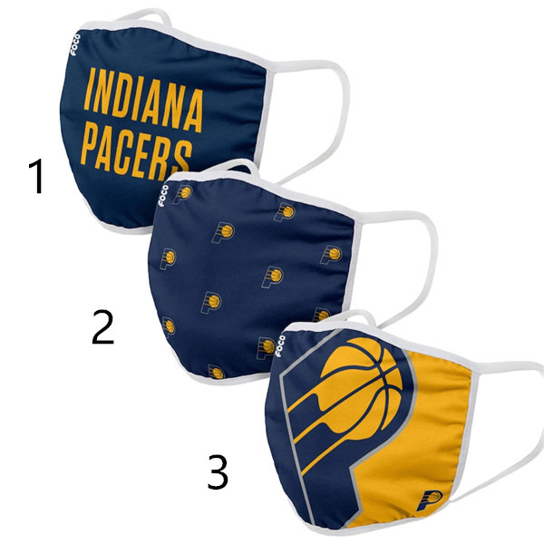Indiana Pacers Face Mask 29060 Filter Pm2.5 (Pls check description for details)