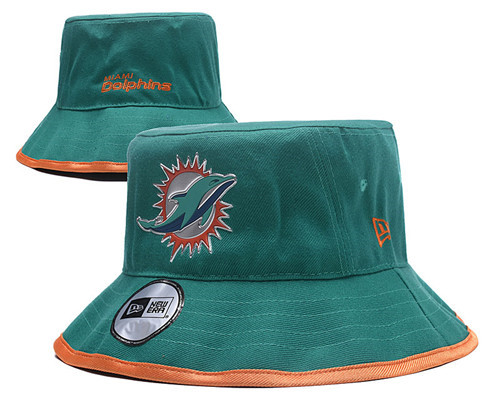 NFL Miami Dolphins Stitched Bucket Fisherman Hats 017