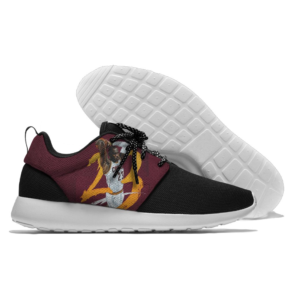 Women's NBA Cleveland Cavaliers Roshe Style Lightweight Running Shoes 009