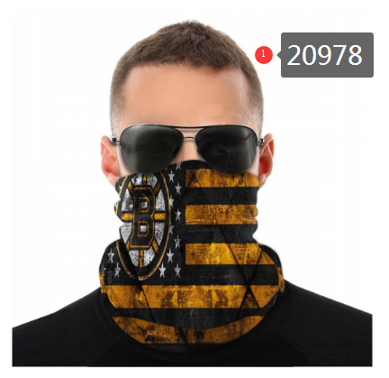 Bruins Face Scarf 020978 (Pls Check Description For Details)Bruins Face Mask Kerchief