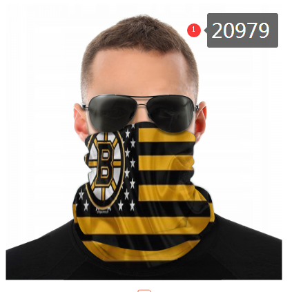 Bruins Face Scarf 020979 (Pls Check Description For Details)Bruins Face Mask Kerchief