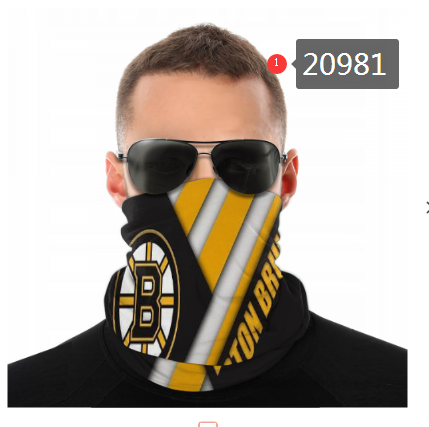 Bruins Face Scarf 020981 (Pls Check Description For Details)Bruins Face Mask Kerchief