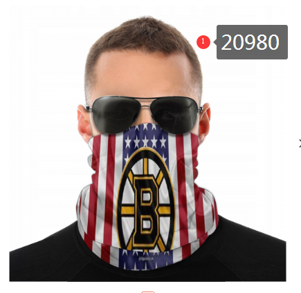 Bruins Face Scarf 020980 (Pls Check Description For Details)Bruins Face Mask Kerchief