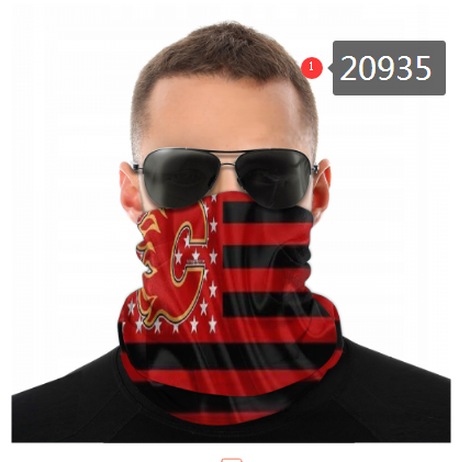 Flames Face Scarf 020935 (Pls Check Description For Details)Flames Face Mask Kerchief