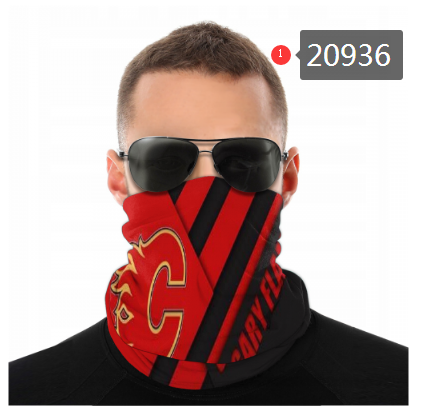 Flames Face Scarf 020936 (Pls Check Description For Details)Flames Face Mask Kerchief