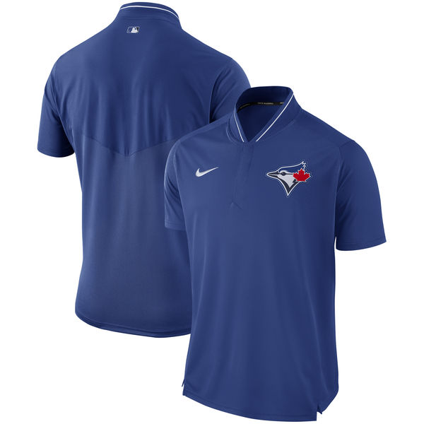 Men's Toronto Blue Jays Royal Authentic Collection Elite Performance Polo