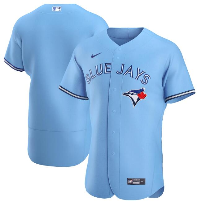 Men's Toronto Blue Jays 2020 Blue Blank Flex Base Stitched MLB Jersey