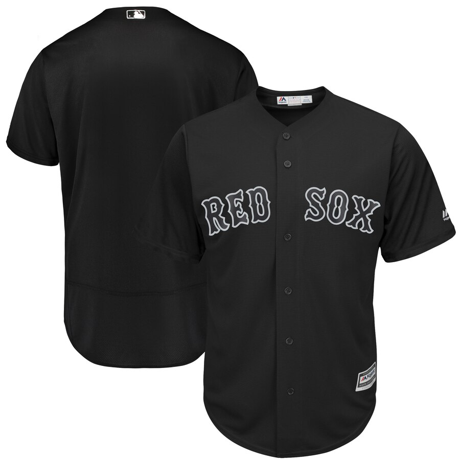 Men's Boston Red Sox Black 2019 Players' Weekend Player Stitched MLB Jersey