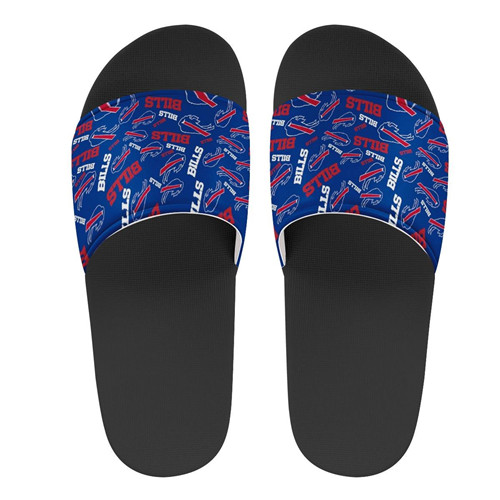 Men's Buffalo Bills Flip Flops 001