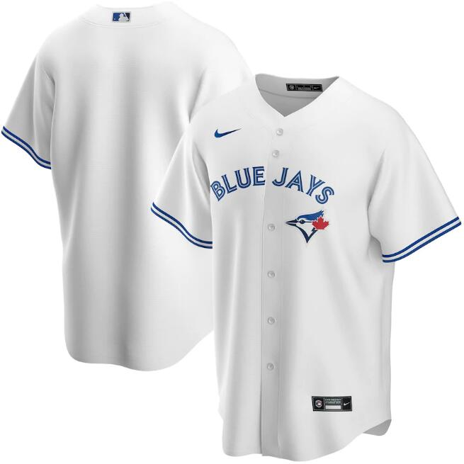 Men's Toronto Blue Jays White Cool Base Stitched MLB Jersey
