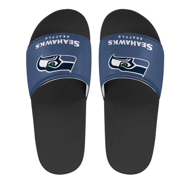 Men's Seattle Seahawks Flip Flops 001