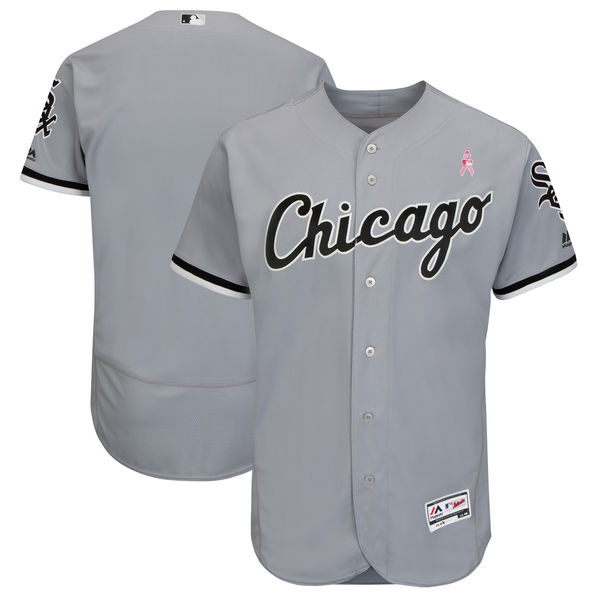 Men's Chicago White Sox Gray 2018 Mother's Day Flexbase Stitched MLB Jersey