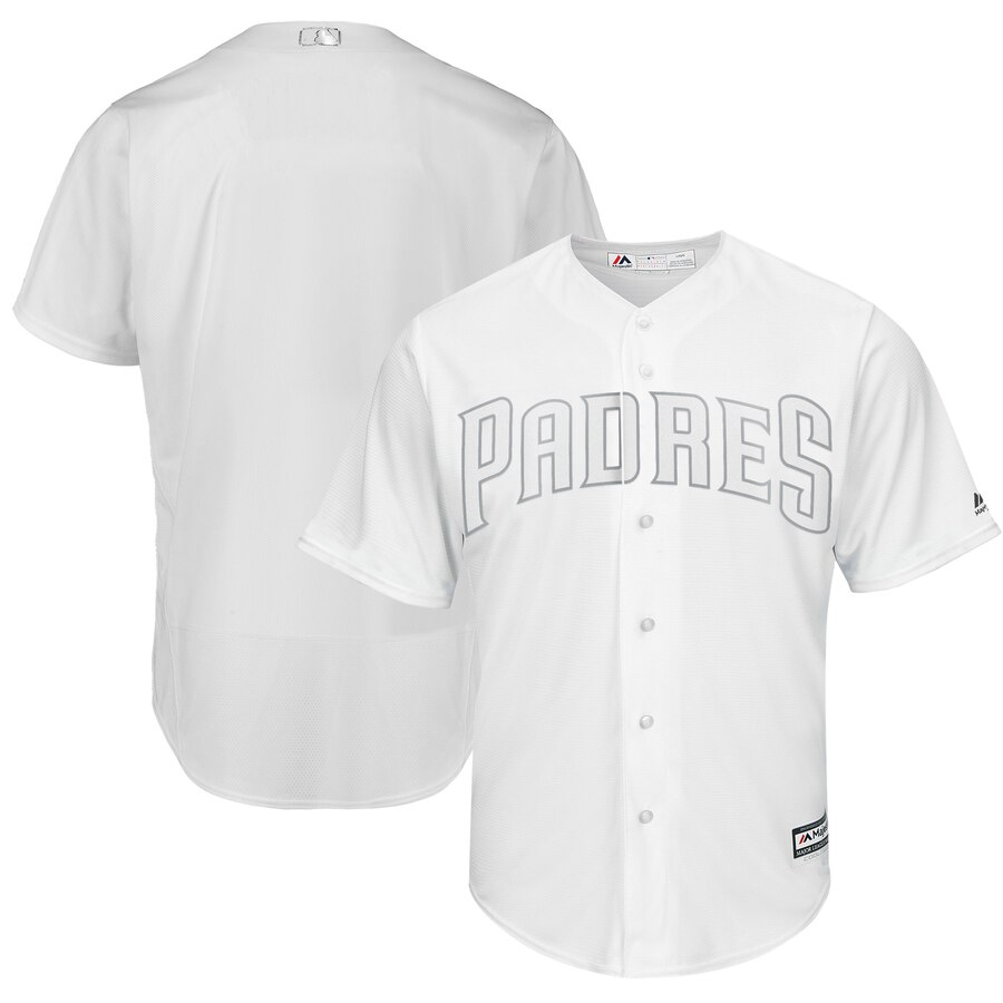 Men's San Diego Padres Majestic White 2019 Players' Weekend Stitched MLB Jersey