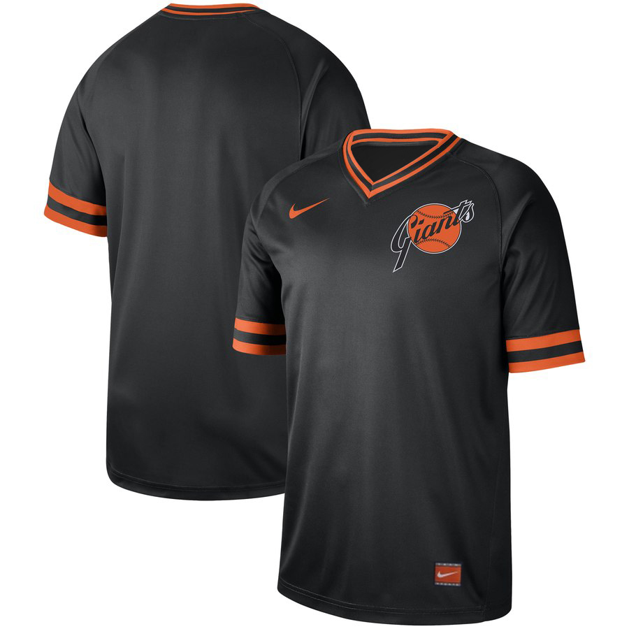 Men's San Francisco Giants Blank Navy Cooperstown Collection Legend Stitched MLB Jersey
