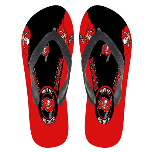 All Sizes Tampa Bay Buccaneers Flip Flops 001