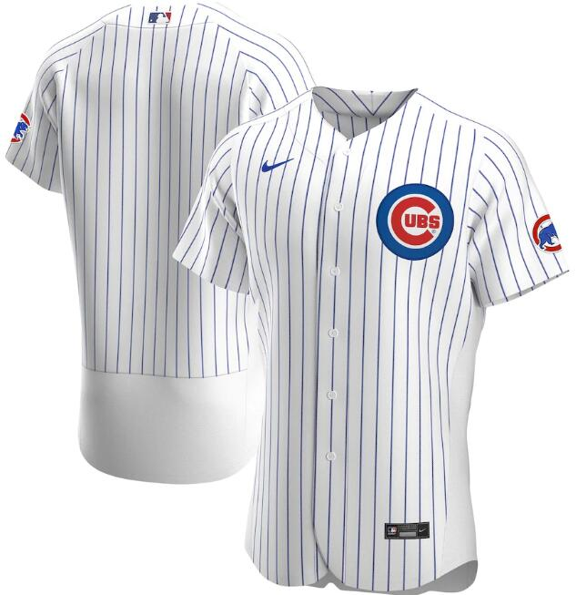 Men's Chicago Cubs White Flex Base Stitched MLB Jersey