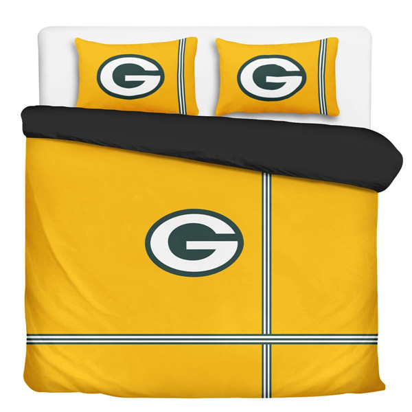Green Bay Packers 3-Pieces Full Bedding 001