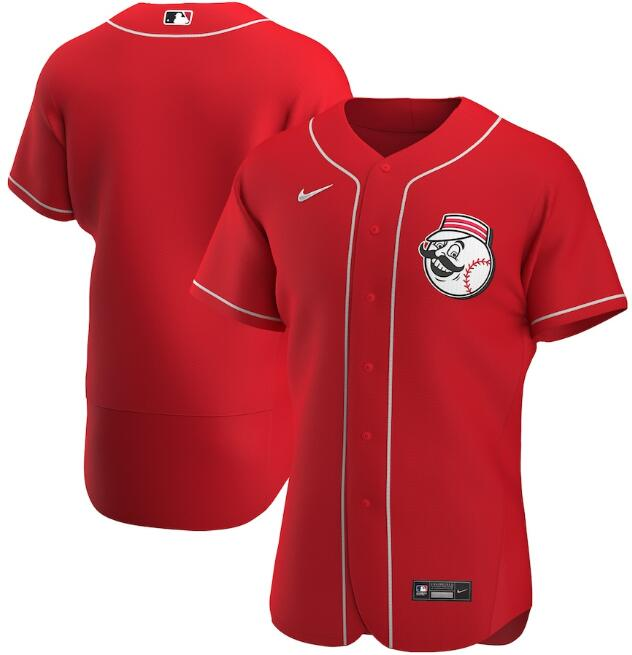 Men's Cincinnati Reds Red Flex Base Stitched MLB Jersey