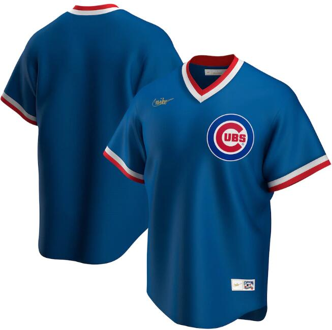 Men's Chicago Cubs Blue 2020 New Cool Base Stitched MLB Jersey