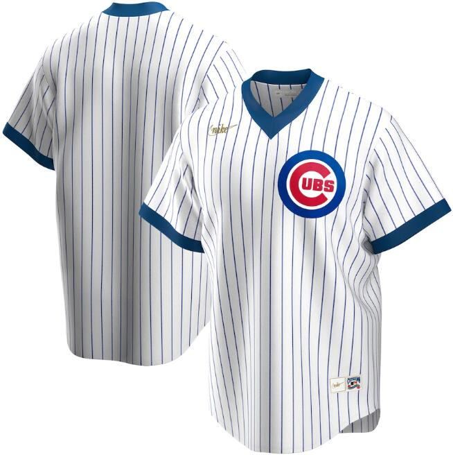 Men's Chicago Cubs White 2020 New Cool Base Stitched MLB Jersey