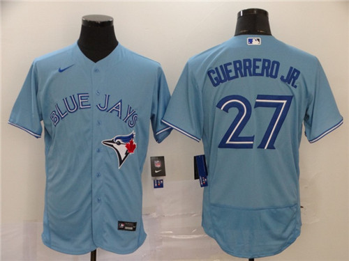 Men's Toronto Blue Jays #27 Vladimir Guerrero Jr. Royal Flex Base Stitched MLB Jersey