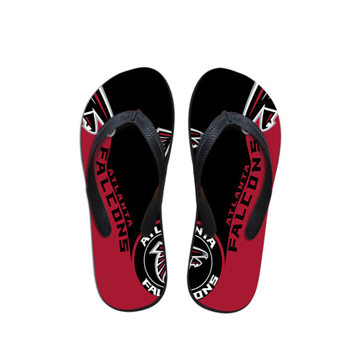 All Sizes Atlanta Falcons Flip Flops 001