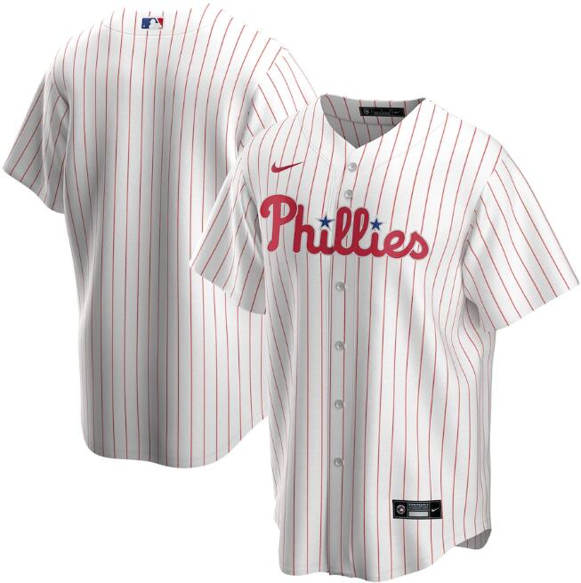 Men's Philadelphia Phillies White Cool Base Stitched MLB Jersey