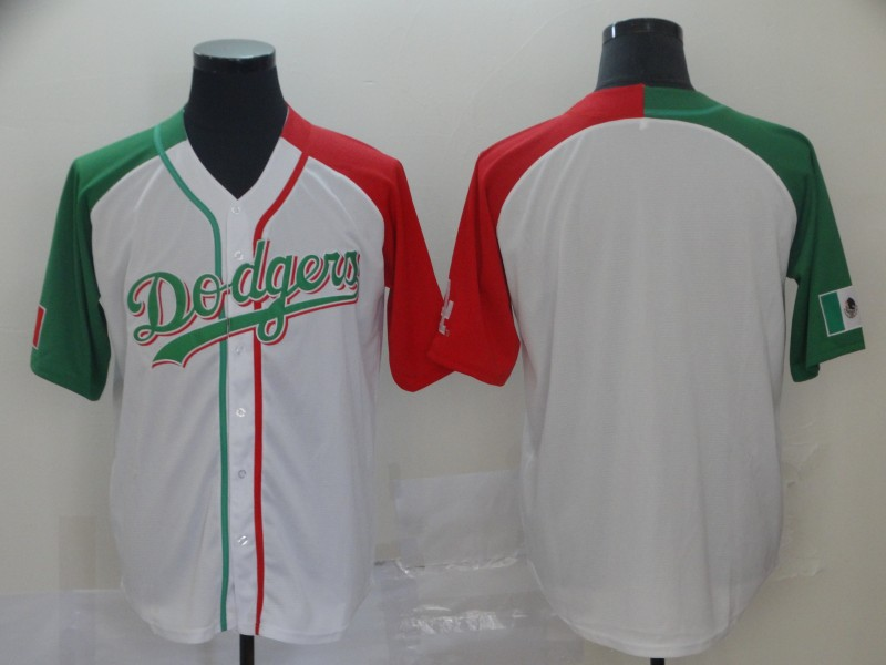Men's Los Angeles Dodgers Mexican Heritage Culture Night MLB Jersey
