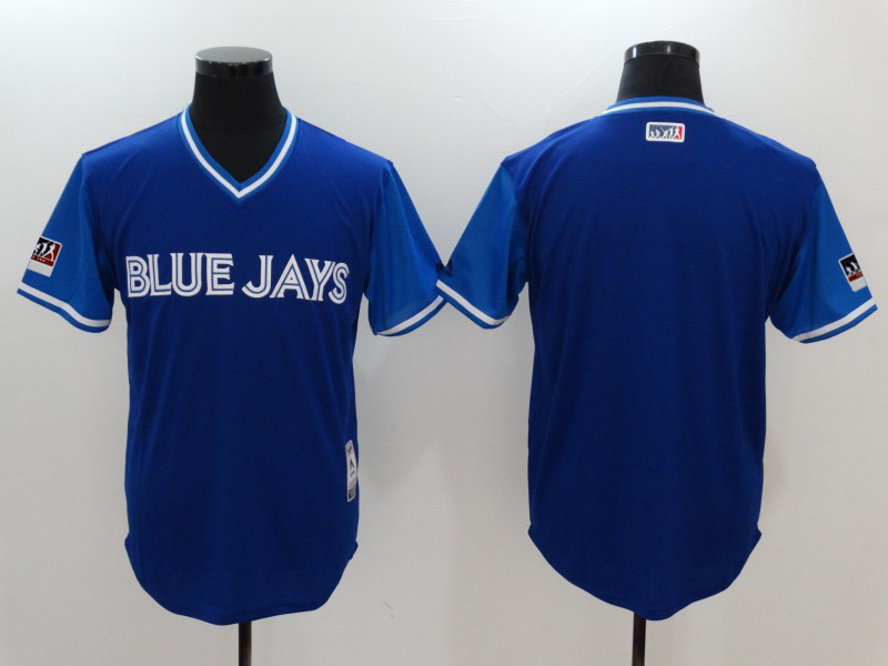 Men's Toronto Blue Jays Majestic Royal/Light Blue 2018 Players' Weekend Team Jersey