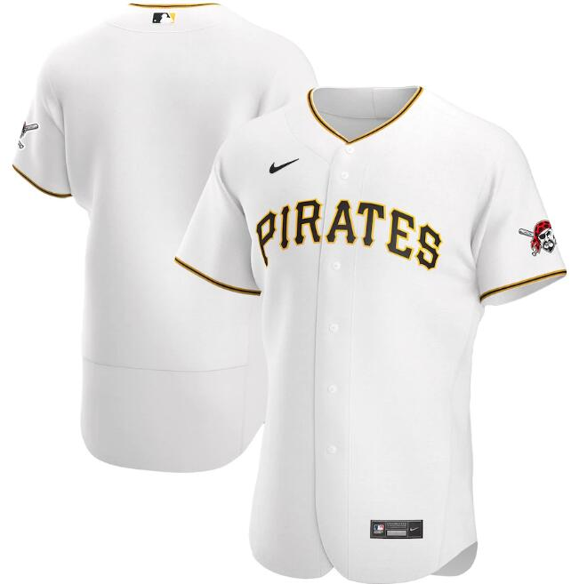 Men's Pittsburgh Pirates White Flex Base Stitched MLB Jersey