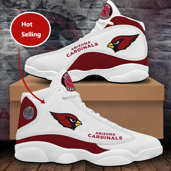 Women's Arizona Cardinals Limited Edition JD13 Sneakers 003