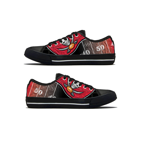 Women's NFL Tampa Bay Buccaneers Lightweight Running Shoes 011