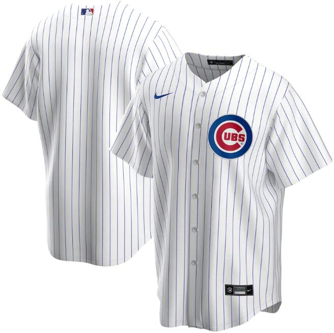 Men's Chicago Cubs White Cool Base Stitched MLB Jersey