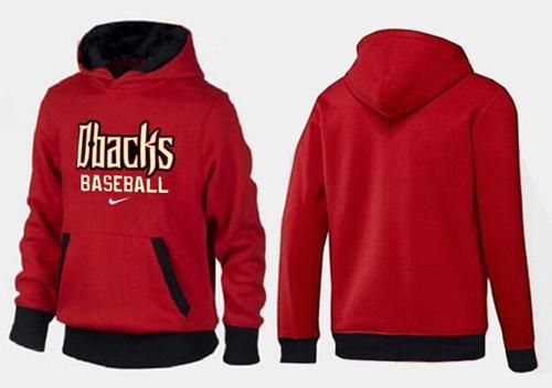 Arizona Diamondbacks Pullover Hoodie Red & Black