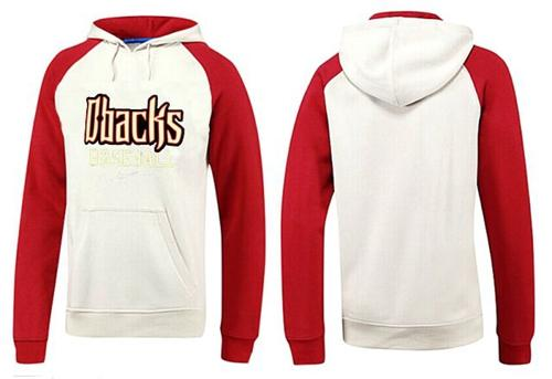 Arizona Diamondbacks Pullover Hoodie White & Red