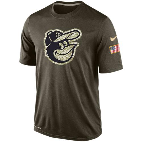 Men's Baltimore Orioles Salute To Service Nike Dri-FIT T-Shirt